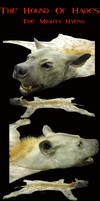 Hellhound Hyena - TaxidermyRug by Zhon