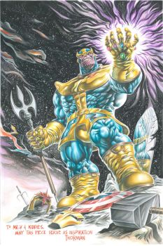 Thanos by 777thorman