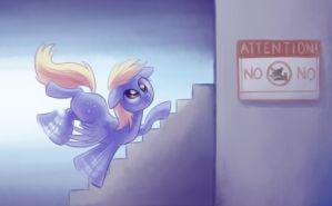 Derpy Going To The Store by verulence