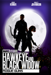 Hawkeye And Black Widow Movie Fanmade Poster by TheKosmicKollector