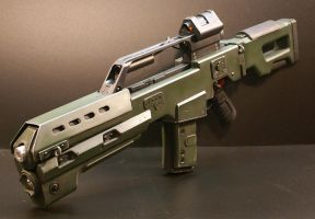 DOOM Reaper Rifle 002 by Matsucorp