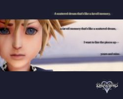 KH2 wallpaper - Sora by RedDeath1888