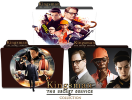 Icon Folder Kingsman The Secret Service Collection by Nialixus