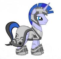MLP OC: Royal guard - Silver Sentinel by PopPixieRex