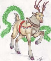 Raindeer 2010 by SilverUrufu