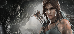 Tomb Raider Photoshopped Wallpaper by TombRaider-Survivor