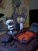 Lenore: Ragamuffin and Lenore Scene by Spaz-Twitch11-15-10