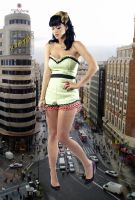 Giantess Katy Perry by joe116able