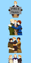MMD Hetalia - Hugs for America by PikaBlaze