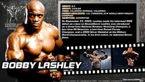 WWE Bobby Lashley ID Wallpaper Widescreen by Timetravel6000v2