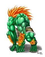 BLANKA: STREET FIGHTER IV by viniciusmt2007
