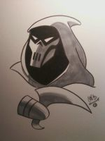 Mask of the Phantasm by ChrisFaccone