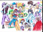 Harvestmoon Characters by Valcristsan