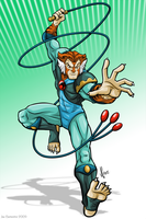 Thundercats Tygra by joe-twoanimators