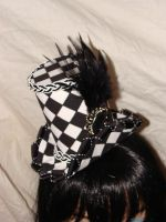 Hats.Checkered Elegance by FatAndSassyBoutique