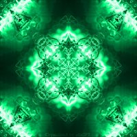Green Crystal HD wallpaper by agoncecelia