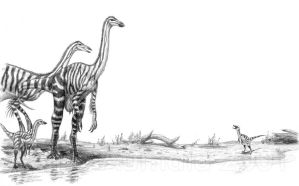 Meet the Ornithomimids by Osmatar