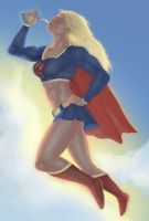 Supergirl by ghetto-dragon by elee0228
