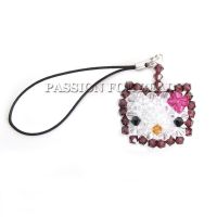 Hello Kitty phone charm by PassionForBeads