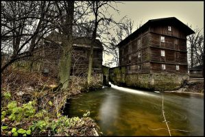Old mill by Mommus