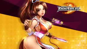 King Of Fighters 97 OL Mai Shiranui by hes6789