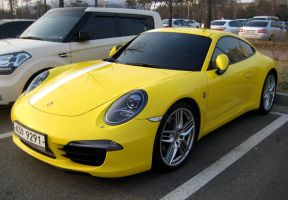 The New Porsche Carrera 4S by toyonda