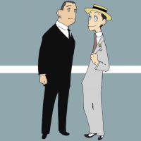 Jeeves and Wooster by matsutakedo