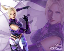 Nina Williams Wallpaper by Edaine