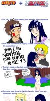 Naruto and Bleach Meme by clearwhite11