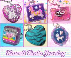 Kawaii Resin Jewelry 2 by bapity88