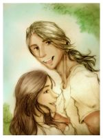 Jacob and Bella - Sunny days by alizarin