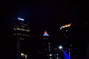 Night Life in Pittsburgh by triple7photography