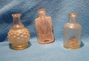 small old bottles... by chop-stock