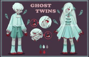 ~GIVEAWAY [CLOSED]~Adopts- ghost twins by Malacandrax