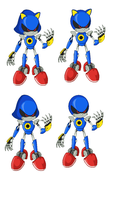 Metal Sonic Base by juanito316ss