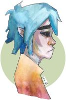 2d from gorillaz by as-obu