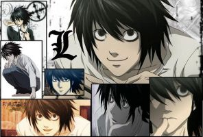 deathnote L by flamingice2439