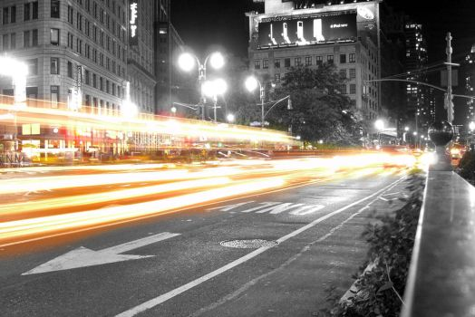 NY Night Lights by Jorlin