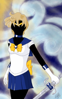 Sailor Uranus by anotherwannabeartist