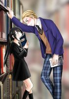 [APH] In the library by AlexMark23