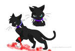 Warrior cats-Scourge by TinyWolfy