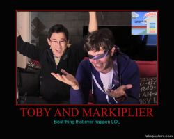 Toby and Markiplier by MalGirl101