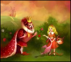 The King abd Alice by Zzanthia