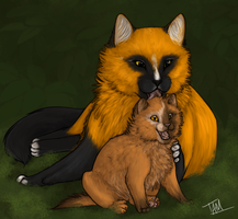 Mother's Love by Tam-Felines