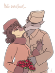 WWI French kiss by Bianca-di-Palermo