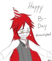 BGA - Grelle wishes you a by InvaderSquall5558
