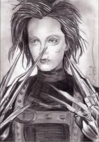 Bill Kaulitz Scissorhands by angelteva