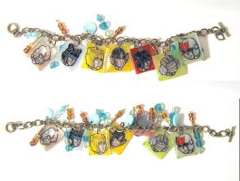 Autobot Charm Bracelet 01 by batchix