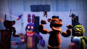 Attack on Animatronics by ErichGrooms3