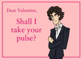 Have a Sherlocked Valentines Day! (BBC) card by maryfgr23